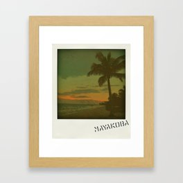 Mayakoba Framed Art Print