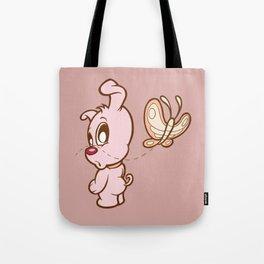 Luna & Lolli Pink - Luna Butterfly Tote Bag