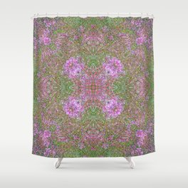 FIREWEED GOING TO LATE SUMMER SEED Shower Curtain