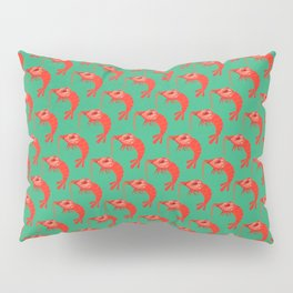 Cherry Shrimp - Ruby Pillow Sham