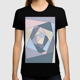 Geometric Layers of Color T-shirt