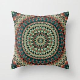 Mandala 585 Throw Pillow