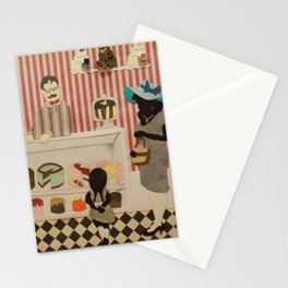 Treats After Church Stationery Cards
