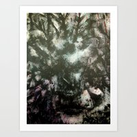 megan lara Art Prints featuring Lara by Renee Pahlisch