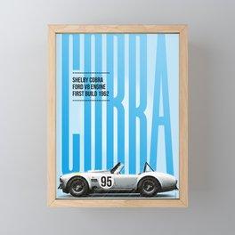 Cobra Tribute Framed Mini Art Print