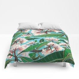 Plumerias Comforters