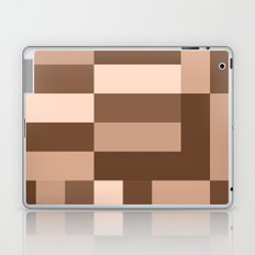 Shades of Brown Blocks Laptop & iPad Skin