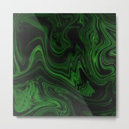 Melted Forest Metal Print