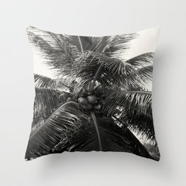Coconut! Throw Pillow