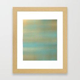 Temporal Lattice Framed Art Print