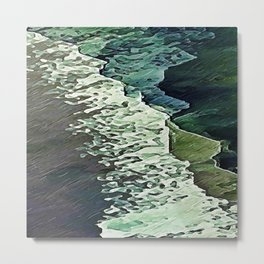 Calm Shores Metal Print
