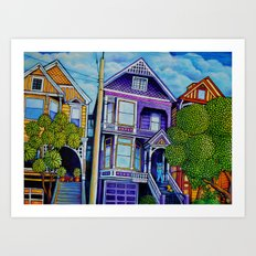 710 Ashbury Art Print