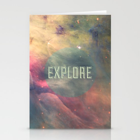 Explore III Stationery Cards