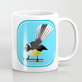 Fantail NZ BIRD Coffee Mug