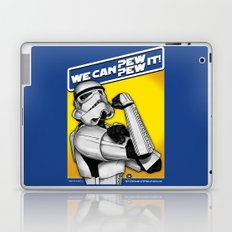 Stormtrooper: 'WE CAN PEW-PEW IT!' Laptop & iPad Skin