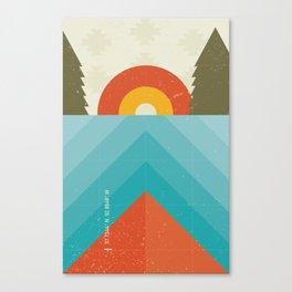 Niangua River Canvas Print