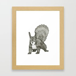 Squirrel Framed Art Print