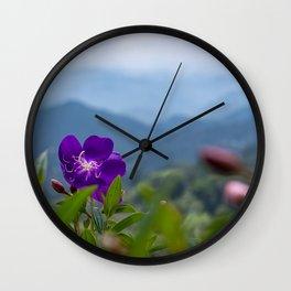 Princess Flower Wall Clock