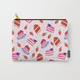 Strawberry cakes Carry-All Pouch