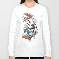 lost Long Sleeve T-shirts featuring Lost by Norman Duenas