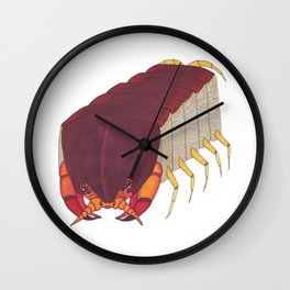 Centipede Cubed Wall Clock