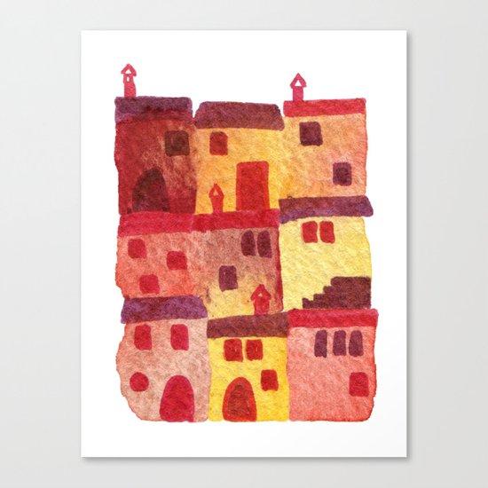 Tuscan Holiday Canvas Print