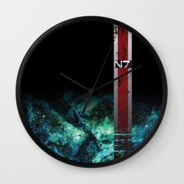 N7 Battle Damaged Armor Wall Clock