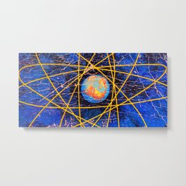 Earth Power Metal Print