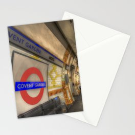 Covent Garden Tube station Stationery Cards