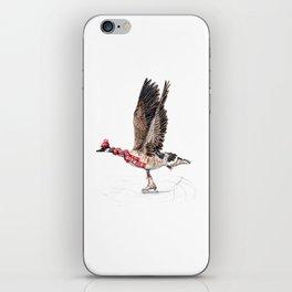 Canada Goose Figure Skating iPhone Skin