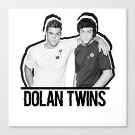 Dolan Twins // B&W Canvas Print