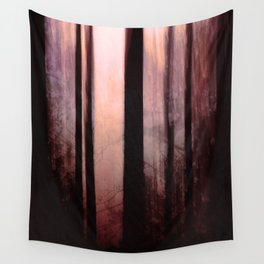 Pink dawn Wall Tapestry