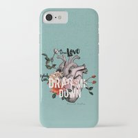 coconutwishes iPhone & iPod Cases featuring Drag Me Down by Coconut Wishes