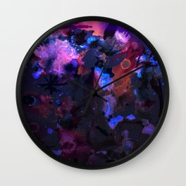 Into the singularity Wall Clock