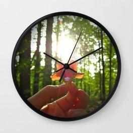 Nature Rays Wall Clock
