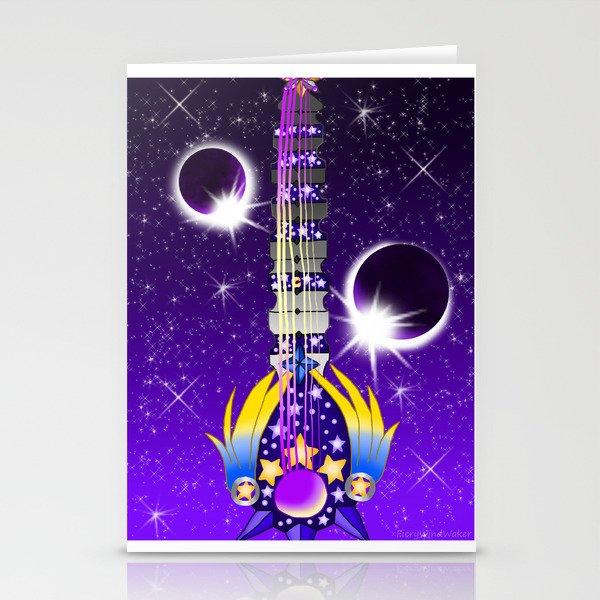 Fusion Keyblade Guitar #131 - Lunar Eclipse & Star Seeker Stationery Cards