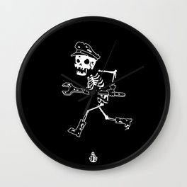 Miss Peregrine skeleton 2 Wall Clock