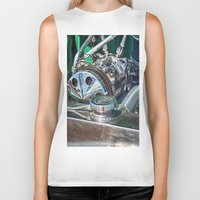 ford Biker Tanks featuring Ford V8 by Shalisa Photography