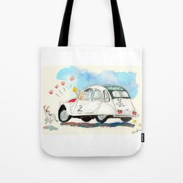 Escargot Love Tote Bag