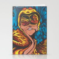 fear and loathing Stationery Cards featuring Fear and Loathing  by Katrina Berkenbosch