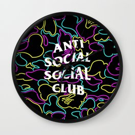 Bape Anti Social Club Wall Clock