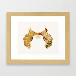 Botas de prado Framed Art Print