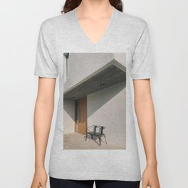 Modern Architecture in Buenos Aires Unisex V-Neck