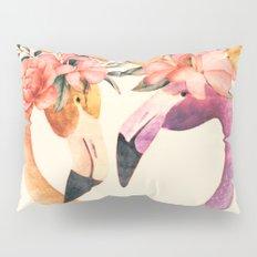 Flamingos II Pillow Sham