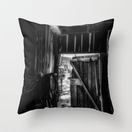 Did you Grow Up in a Barn Throw Pillow