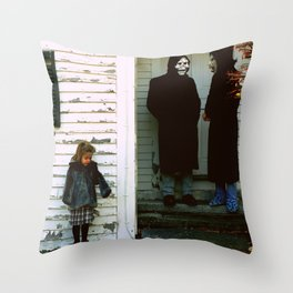 Brand New - The Devil and God Are Raging Inside Me Throw Pillow