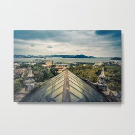 Boticary View Metal Print