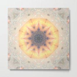 Hacienda Vistoso Mandala Abstract Design Metal Print
