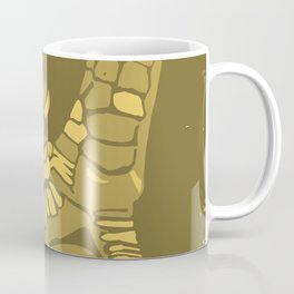 Two Untitled Chicken Feet in Yellow Coffee Mug