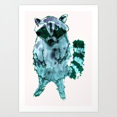 I Eat Cat Chow Art Print